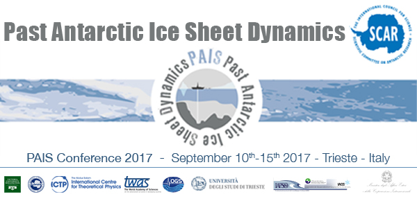 Past Antarctic Ice Sheet Dynamics (PAIS) Conference
